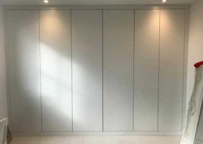 Wardrobes supplied and fitted by MHB